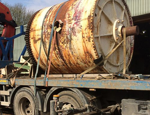 Ball Mill liner replacement